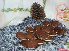 Orzeszki z kakaowego ciasta