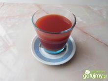 Orzeźwiający napój warzywno-owocowy