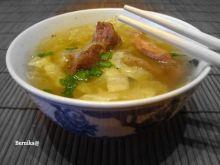 Ostra zupa syczuańska wg Królika