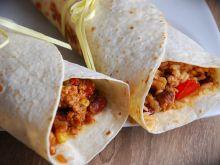 Ostre burrito meksykańskie