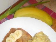 Ostre risotto z bananami i jabłkami