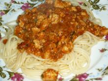 Ostre spaghetti z natką pietruszki