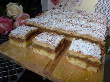Oszukana szarlotka (ciasto z rabarbarem)