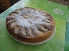 Owoce ciasto na oleju