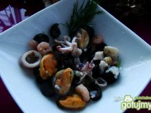 Owoce morze z patelni