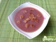 Owocowa zupa ze śliwek z kompotu