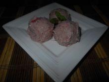 Owocowe lody z kaszą i miodem