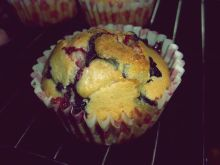 Owocowe muffinki 'owoce lata'