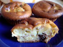 Owocowe muffinki z czekoladą