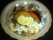 Owocowe śniadanie z siemieniem lnianym