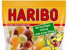 Owocowe żelki Haribo
