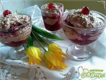 Owocowo-kakaowy szybki deser