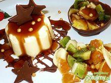 Owocowy creme Caramel