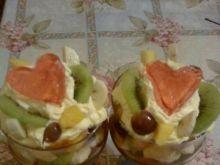 Owocowy deser dla Bartka