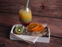 Owocowy drink z kiwi