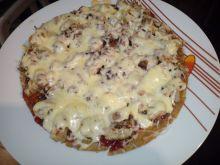 Owsiana pizza z patelni