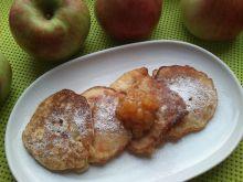 Owsiane racuchy z jabłkami