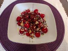 Owsianka z malinami i czekoladą