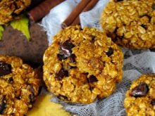 Owsiano- dyniowe ciasteczka