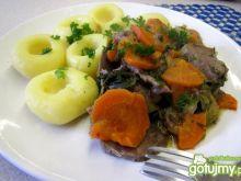Ozorki z warzywami w sosie własnym