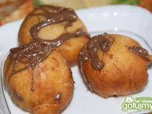 Pączki z czekoladą i w czekoladzie