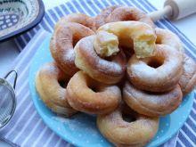 Pączki z dyniowym purée