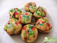 Pączkowe muffinki z dżemem