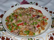 Paella bardzo aromatyczna