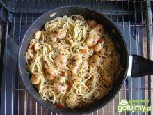 Paella z Spaghetti Makaronem