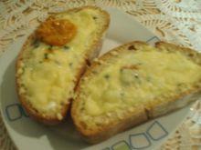 Pajda chleba zapiekana z jajkiem