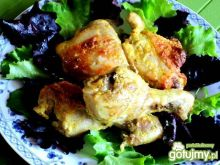 Pałki kurczaka w jogurcie i curry
