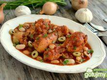 Pałki z kurczaka w soku pomidorowym
