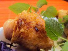 Pałki z kurczaka z czerwoną kapustą
