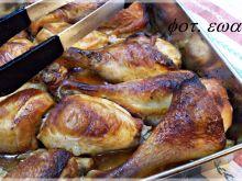 Pałki z kurczaka z trzcinową nutą
