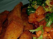 Paluszki rybne z majonezem koperkowym