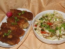 Paluszki z kurczaka i ziemniaków: