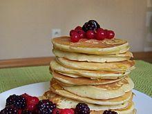 Pancakes maślankowe