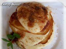 Pancakes serowe leśne.