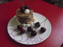 Pancakes z czereśniami