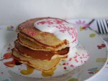 Pancakes z jabłkiem i cynamonem