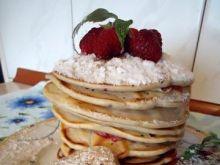 Pancakes z malinami wg Mychy