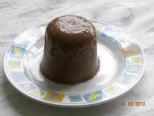 Panna cotta czekoladowa