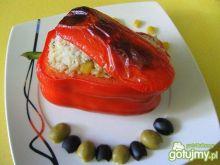 Papryka faszerowana kolorami