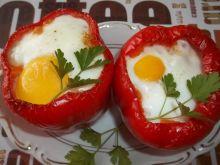 Papryka faszerowana z jajkiem