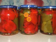 Papryka w zalewie słodko-kwaśnej