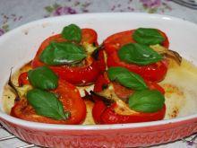 Papryka zapiekana z pomidorami