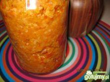 Paprykarz z pomidorów i ryżu.