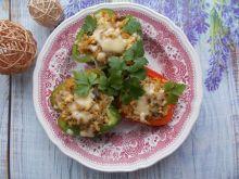 Papryki faszerowane ryżem oraz mięsem