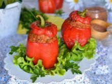 Paprykowe kaszaloty z mięsem