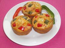 Paprykowe muffinki